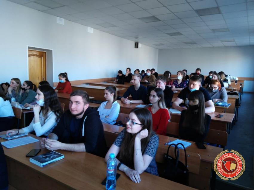 В Юридическом институте состоялась встреча студентов 2 курса с судьей Алтайского районного суда