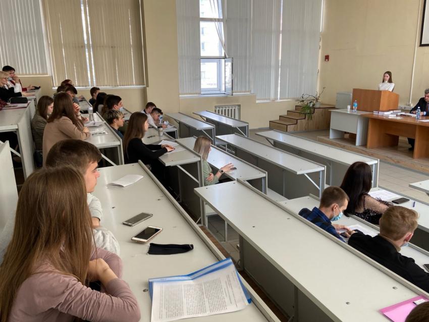 В юридическом институте состоялась 8 Региональная конференция «Мой выбор – Наука!»